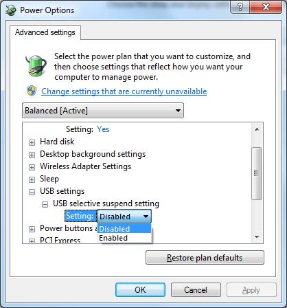 حل مشکل از کار افتادن ناگهانی درگاه USB در محیط ویندوز حل مشکل از کار افتادن ناگهانی درگاه USB در محیط ویندوز 4490411_725